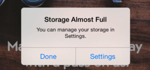Is Your iPhone or iPad Running Low On Storage?
