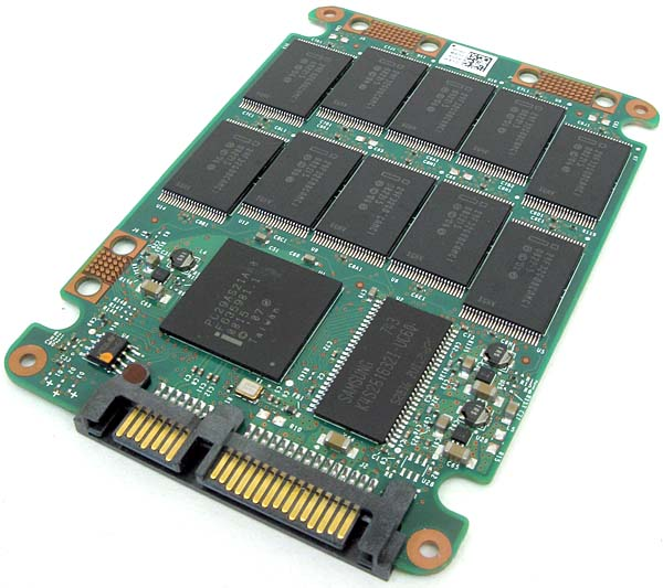 Solid State Drive Opened
